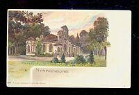 Early UDB Postcard Magdalen Chapel Nymphenburg Castle Munich Germany B2208