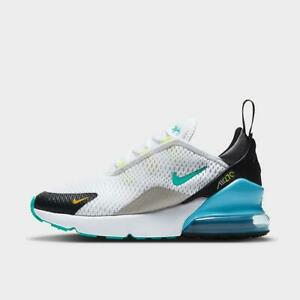 Kids Nike Air Max 270 PS Trainers DJ4605 100 White/Blue Size UK 10_13_1.5