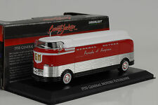 1950 General Motors Futurliner Parade of Progress 1:64 Greenlight (14cm)