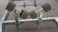 Pendelrollen Sliphilfe an Schiebestütze für Bootstrailer 1Paar *NEU