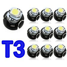20Pcs T3 SMD Led Neo Wedge Car Dash Gauge Instrument Cluster Bulbs Light 12v