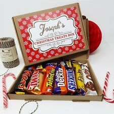 PERSONALISED CHOCOLATE SELECTION GIFT BOX CADBURY HAMPER PRESENT CHRISTMAS