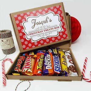 PERSONALISED CHOCOLATE SELECTION GIFT BOX CADBURY HAMPER PRESENT CHRISTMAS