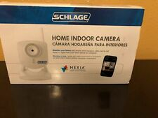 Schlage Home Indoor Camera with Nexia Home Intelligence White