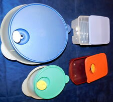 "4+ Sets Tupperware 10"" Divided Vented FridgeSmart 3284C 3385A 3993A 2646A 2649A"