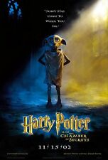 HARRY POTTER And The Chamber Of Secrets Dobby Original Double Sided Movie Poster