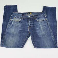 J.Crew 484 Slim Men's Jeans 31x32 (Actual 32x31) Selvedge Button Fly Damaged