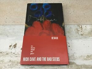 NICK CAVE & THE BAD SEEDS  NO MORE SHALL WE PART signed Autographed PROMO 2 x CD