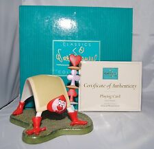 Wdcc Walt Disney Classic Collection Alice In Wonderland Playing Card Figurine
