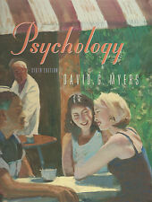 Psychology in Modules Sixth 6th Edition by David G. Myers (2000, Hardcover Book)