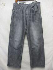 D3993 Avirex Killer Fade Gray Jeans Men 34x32