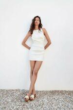 Zara Mini White Dress Size Size S New