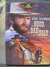 THE GOOD THE BAD AND THE UGLY DVD CLINT EASTWOOD