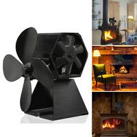 Doseur Ventilateur Poêle-cheminée Cuisinière 4 Aile pour Four Poêle à Bois