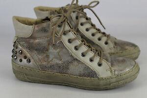 Rieker Gr.37 Damen  Stiefel  Stiefeletten  Schnürschuhe   Nr. 958 C