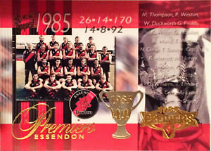 Select Conquest, #PC15 PREMIERS ESSENDON 1985