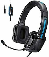 Kama Stereo Gaming Headset for PS4, Xbox One, Noise Cancelling Over Ear Headphon