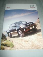 Toyota Hilux range brochure Nov 2006