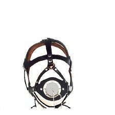 New Fetish Head Harness Open Mouth Plug Gag Restraint Fancy DressFree Post  279