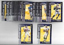 Football Collector's Choice 1995 You Crash the Game Silver 30 Card Set