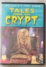 Tales from the Crypt The Complete First (1) Season 1989 DVD (2017) USED Complete