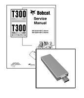 Bobcat T300 Turbo (Highflow) Workshop Repair Service Manual USB Stick + Download