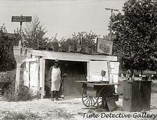 African American at His Roadside Saloon - circa 1915 - Historic Photo Print