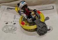 PLAYMOBIL 3083 Space Explorer Hovercraft Astronaut Flying Saucer w/ Instructions