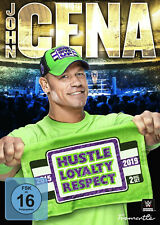 WWE JOHN CENA Hustle Loyalty Respect 2015-2019 2x DVD DEUTSCHE VERKAUFSVERSION