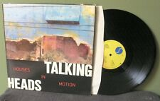 "Talking Heads ""Houses in Motion"" 12"" Orig NM David Byrne Brian Eno"
