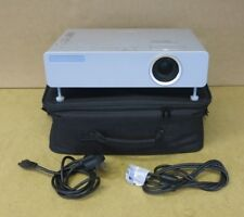 Panasonic PT-LB80NTEA Desktop Projector With Connecting Cables And Carry Case