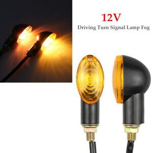 Motorcycle Modified Turn Lighting Driving Turn Signal Lamp Fog Bright Light Kit