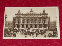 Yvon - Paris Strolling THE OPERA Garnier 1919 Helio 2e Series - 21 CPA