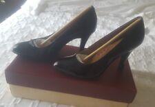 "NIB SÖfft Moselle Black Patent shoes, 3"" heels. Size 7US Medium"