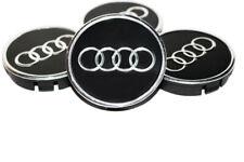 AUDI Wheel Center Hub Centre Caps for Alloy Rims Set 4 x 60mm Alu Emblem