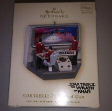 Star Trek 2 Wrath Of Khan Hallmark Keepsake Christmas Ornament with box