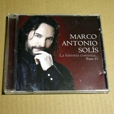 Marco Antonio Solis - La Historia Continua Pt. 4 USA CD MINT Latin Pop #O02