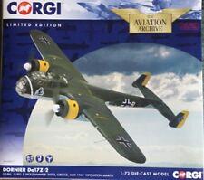 """New Release Corgi 1:72nd Scale Dornier Do17Z-2 """"Holzhammer""""  Diecast Model."""