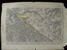 Carte d'État-Major Abbeville Sud-Est 1889