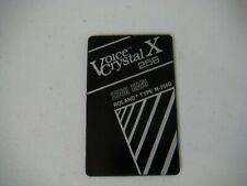 Roland D-50 - Voice Crystal X 256 RAM Card - Loaded w/ Bo Tomlyn's Top 40 Sounds