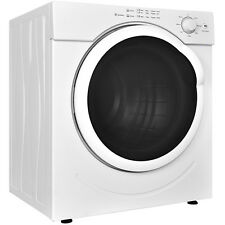 26lbs Electric Tumble Compact Cloths Dryer Stainless Steel 3.21 Cu. Ft. Laundry