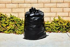 55 GALLON TRASH BAG 30 PK HEAVY DUTY 1 MIL THICK HOME BUSINESS WORKSHOP WORKSITE