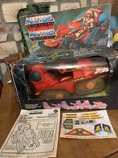 Masters of the Universe ATTACK TRACK Trak MOTU maitres mattel He Man vintage