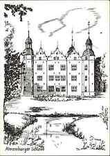 Schloss Motiv-Postkarte Schloß Ahrensburg Ahrensburger Schloss Künstlerkarte