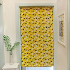 Bathroom Curtain Doorway Blackout Cotton Linen Tapestry Door Half Noren Curtains