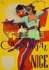 Carnaval de Nice  06 - affiche plastifiée