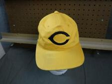 Vintage Hat Snap Back Used Snapback Cincinnati Reds Rare Yellow Hat
