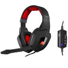 Sumvision Nemesis Akuma 7.1 Usb Sonido Envolvente Con Cable Gaming Headset-Pc