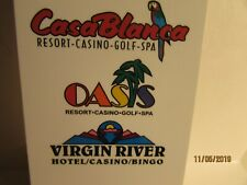 Casa Blanca -Oasis- Casino & Resort- Mesquite, Nv.- Room Key Card- mint