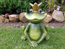 Frog Princess Garden Statue Ornament 36 Cm